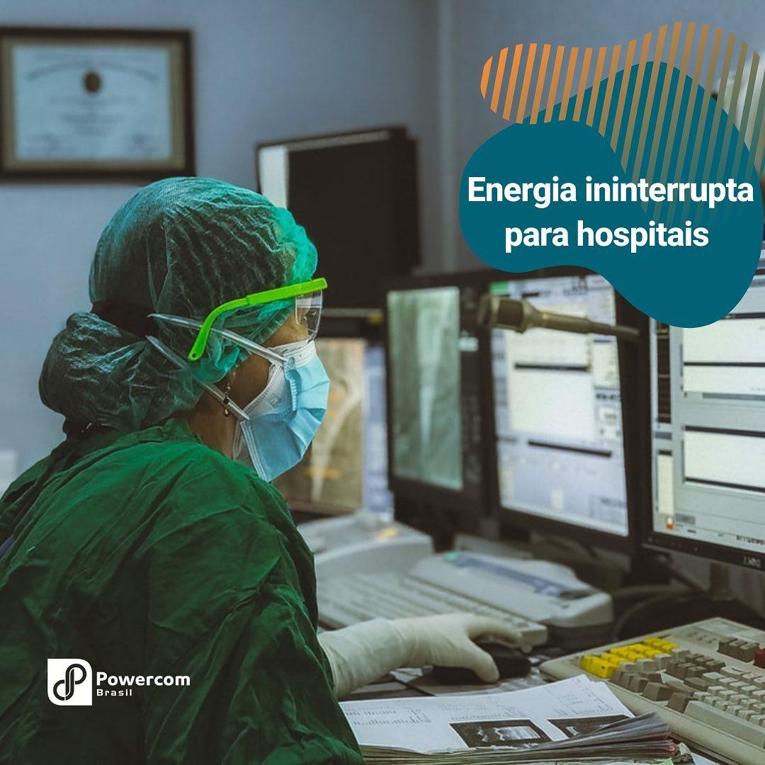 Energia Ininterrupta para Hospitais