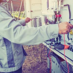 Manutenção de geradores eletricos