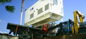 Locação de gerador de energia a diesel